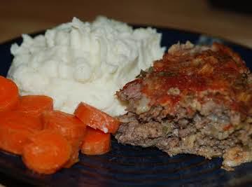 Pressure Cooker Meatloaf Dinner