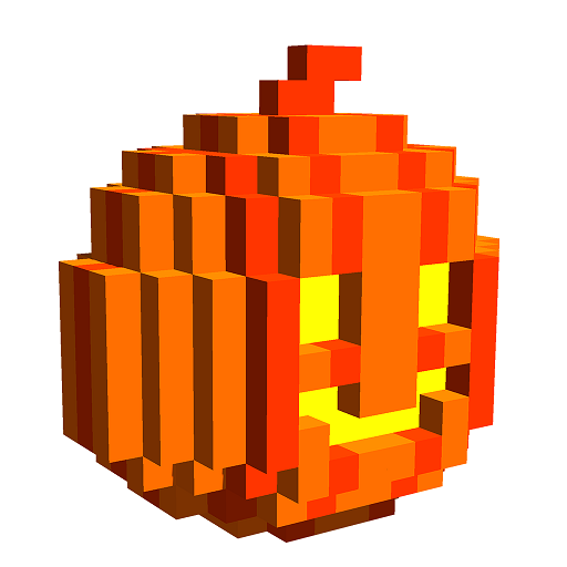 Halloween 3D Color by Number: Voxel Coloring Book Icon