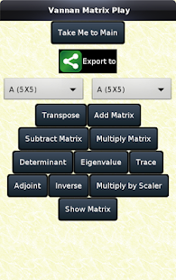 Linear Algebra (Matrix)- screenshot thumbnail