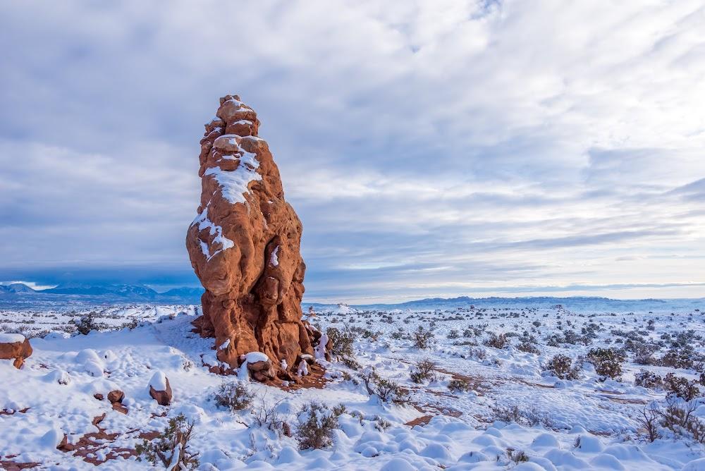 Зимние нацпарки США. Декабрь 2017 (много фото)