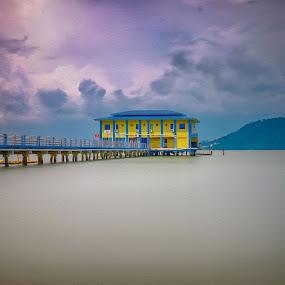 Jetty Hotel at Batu Kawan, Penang Malayaia by Adi Affendi - Landscapes Sunsets & Sunrises