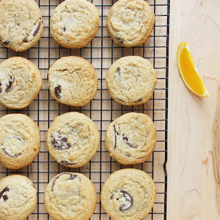 Whole Wheat Chocolate Chunk and Clementine Zest Cookies