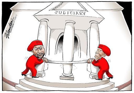 CARTOON: EFF targets judiciary