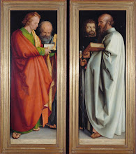 Photo: Albert Durero, The Four Apostles, 1526