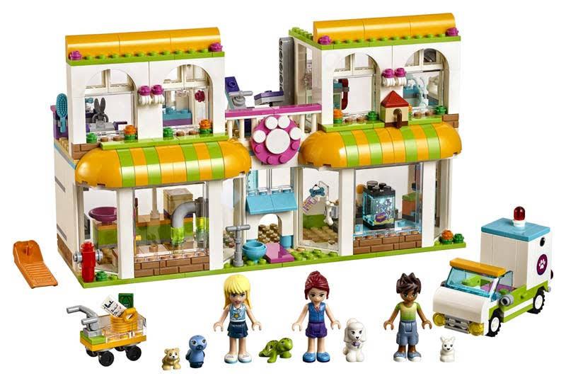 Contenido de Lego® 41345 Centro de Mascotas de Heartlake