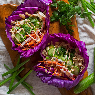 Banh Mi Chicken Tacos {Slow Cooker}