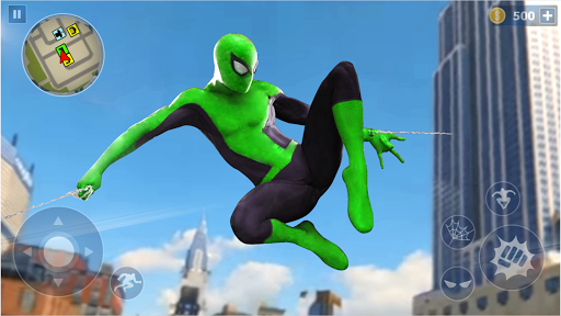 Spider Rope Hero: Ninja Gangster Crime Vegas City  screenshots 1