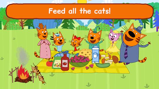 Kid-E-Cats: Three Cats on a Picnic! Kitty Games! 6