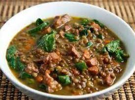 Ham – Lentil Soup, Crock Pot Style Recipe