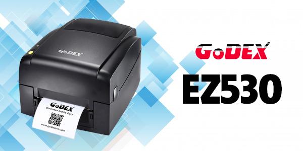 Máy in tem nhãn phụ để bàn GoDEX EZ530