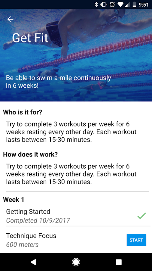 MySwimPro Swimming Workout Log- screenshot