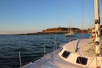 Photo: Au mouillage aux Îles Saint Marcouf