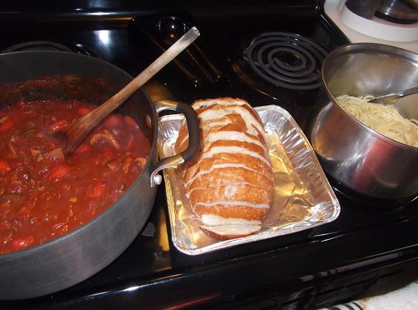 Ali's Bacon Wine Spaghetti Sauce Recipe
