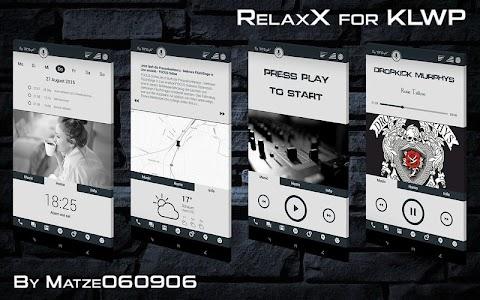 RelaxX for KLWP v1.3