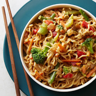 Vegetable Ramen Pad Thai Recipe