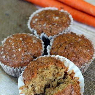 Carrot Cake Muffins with Cinnamon Glaze Recipe