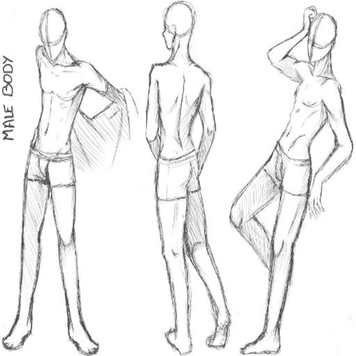 How To Draw Manga Bodies Screenshot