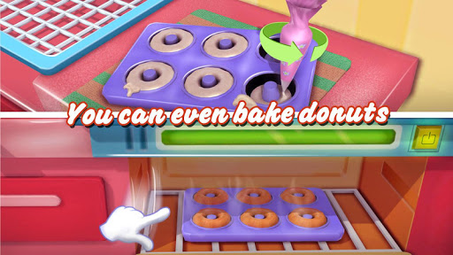 Donut Maker 3d - Sweet Bakery & Cake Shop 1.0 screenshots 3