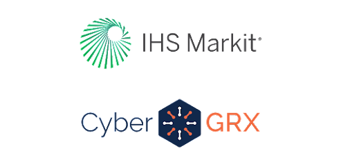 IHS Markit and CyberGRX icon