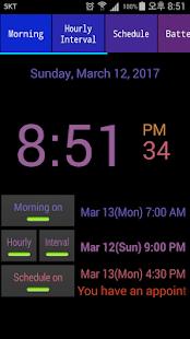 Speaking Alarm Clock - náhled