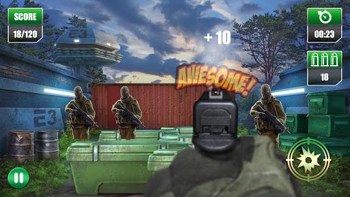 Pistol Shooting Expert - FPS Handgun Shoot Range  screenshots 1
