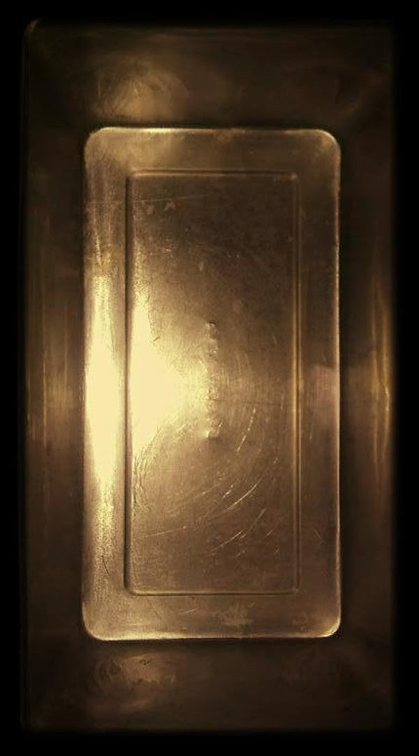 Grease and flour two large loaf pans or 2 large muffin tins.  I have large...