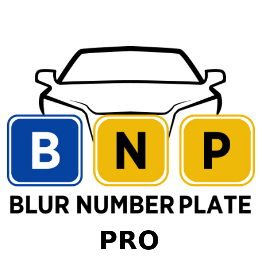Blur Number Plate Pro