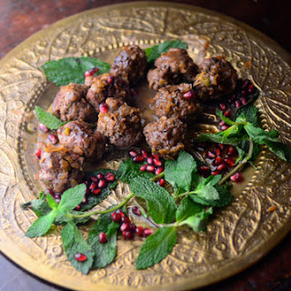 Old Baghdad and Fragrant Lamb Meatballs with Sour Sauce