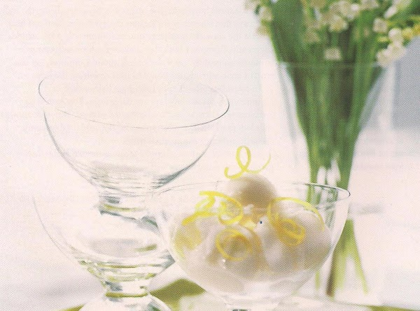 Champagne And Lemon Sorbet From Weight Watchers Recipe