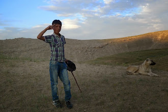 Photo: Sheperd, near Bazid, 2014, North Kurdistan