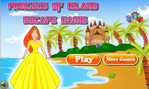 Princess of Island Escape Game