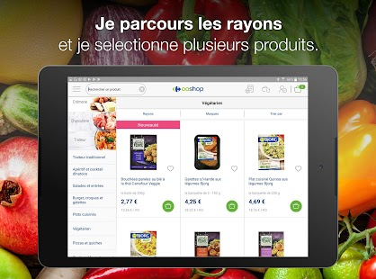 Carrefour Ooshop - Courses – Vignette de la capture d'écran