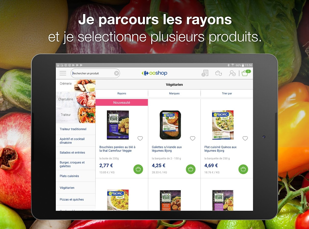 Carrefour Ooshop - Courses – Capture d'écran