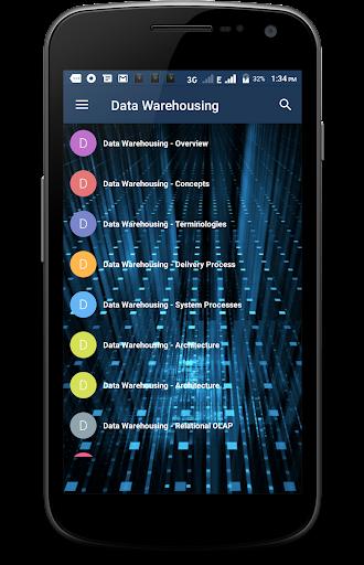 Data Warehousing 1.1 screenshots 1