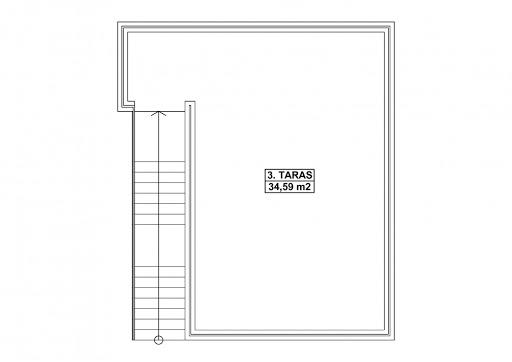 G352 - Budynek garażowo-gospodarczy - Taras