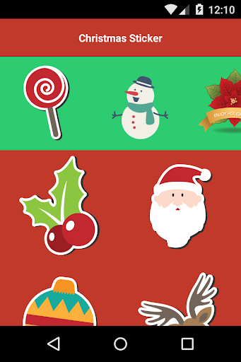Christmas Stickers Photo