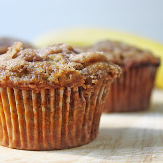 Best Ever Banana Crumb Muffins
