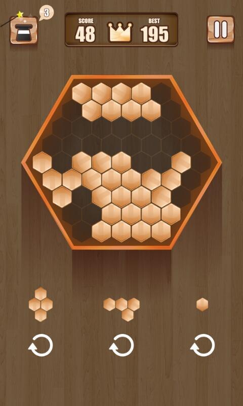 Wooden 100 Block Puzzle APK 2.0.1 screenshots 2