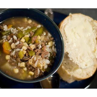 Bean Hamburger Soup