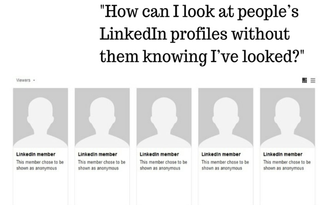 Anonymous Linkedin