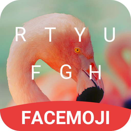 Flamingo Keyboard Theme & Emoji Keyboard