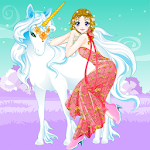 Fairy and the Unicorn Dressup icon