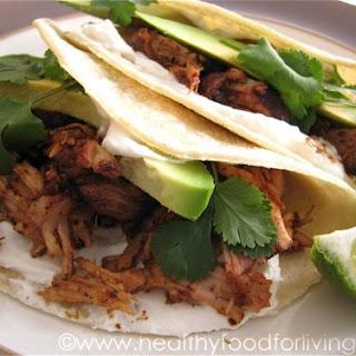 Carnitas (Pulled Pork Tacos).