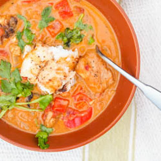 Caribbean Fish Curry.