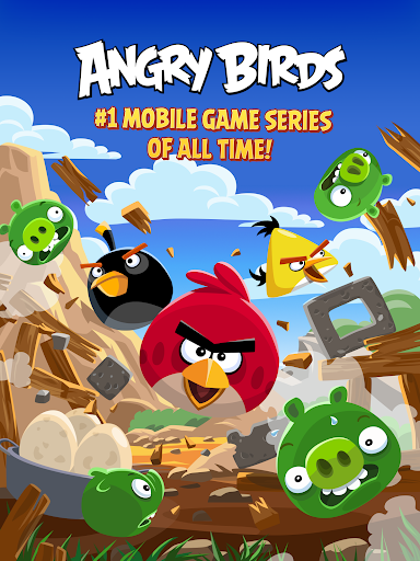 Angry Birds Classic  gameplay | by HackJr.Pw 6
