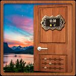 Smart Door Lock Screen Icon