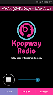 Kpopway Radio- screenshot thumbnail