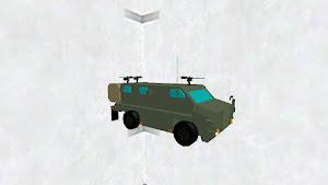 輸送防護車(ブッシュマスター)