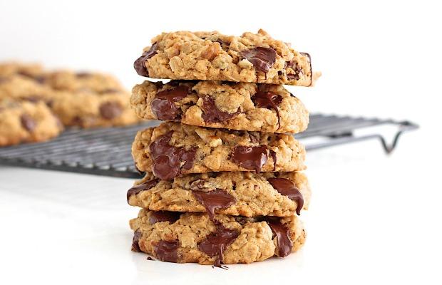 Flourless Oatmeal Chocolate Chip Cookies Recipe | Yummly