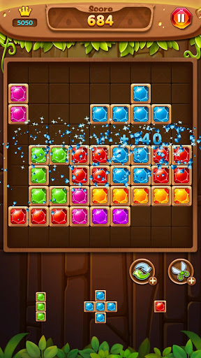 Jewel Block Puzzle - Jewel Games Free screenshots 1